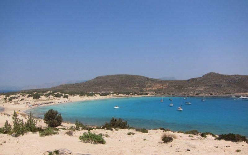 Elafonisos adası Simos güney kıyısı