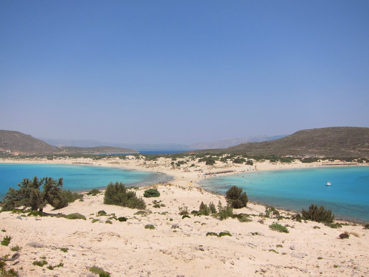 Elafonisos adası Simos plajı