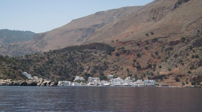 Girit Loutro köyü
