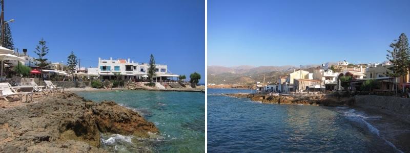 Girit Mochlos köyü