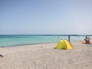 Elafounissi plajı Girit