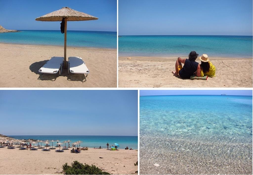 Karpathos Diakoftis plajı
