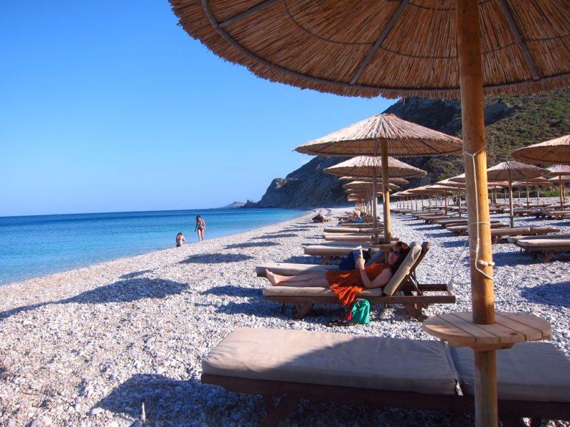 Kythira adası Kombonada Beach