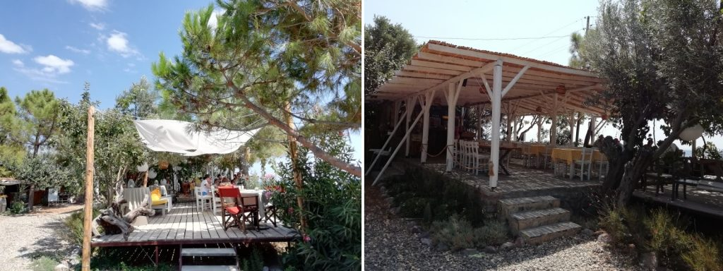 kozluyalı glamping beach bar