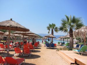 Livadaki plajı, Samos