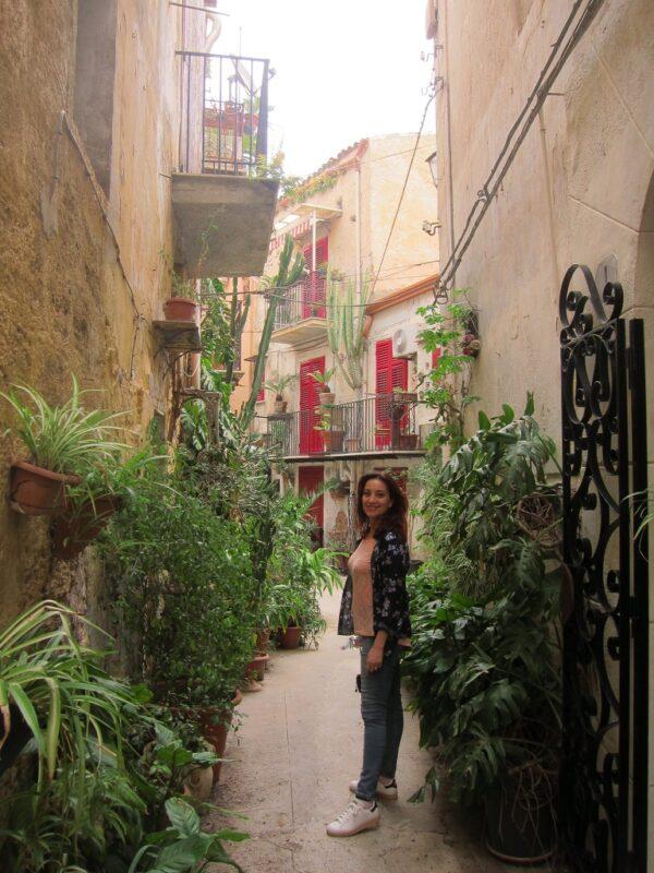 Monreale sokakları