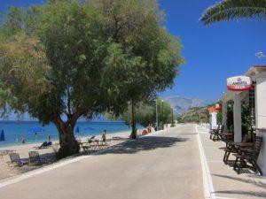 Ormos Koumeikon otel önü