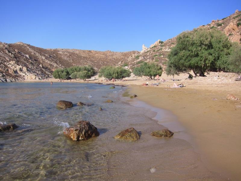 Psili Ammos plaj ve kumsalı