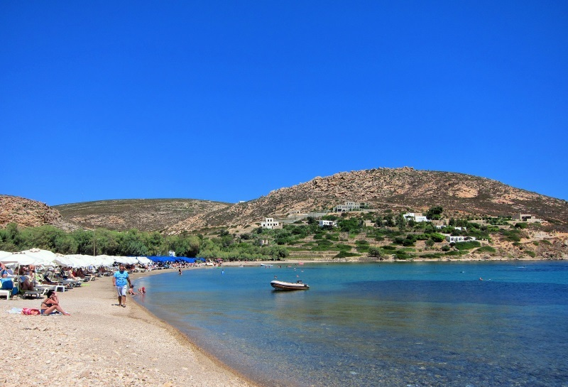 Patmos Agriolivadi plaj