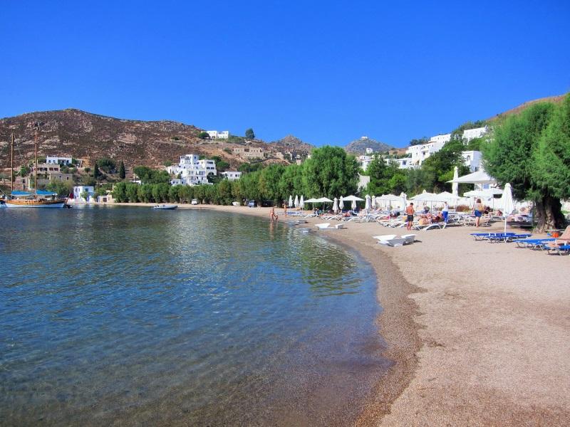 Patmos Adası Grekas plajı