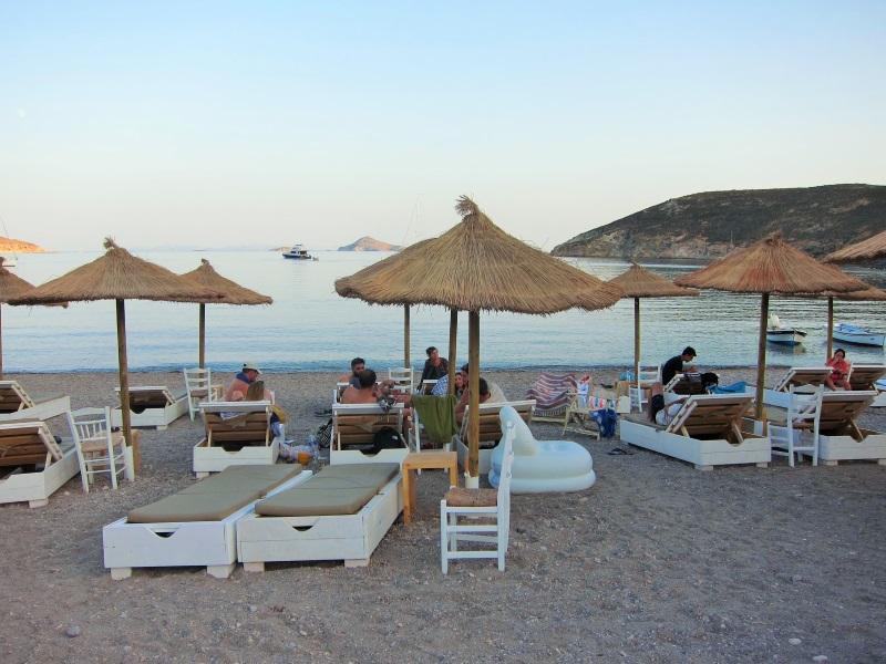 Patmos Kampos plajı