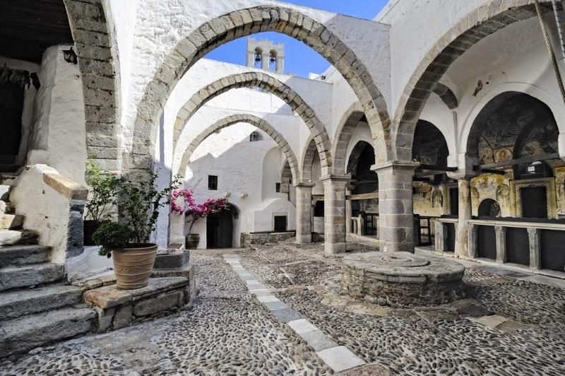 Patmos chora manastir