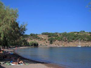 Patmos adası Meloi plajı