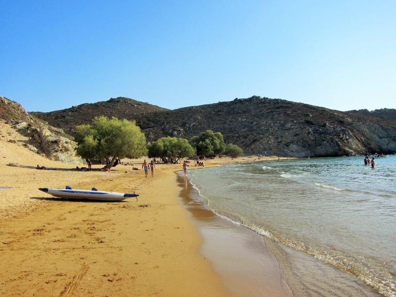 Patmos adası psili ammos plajı
