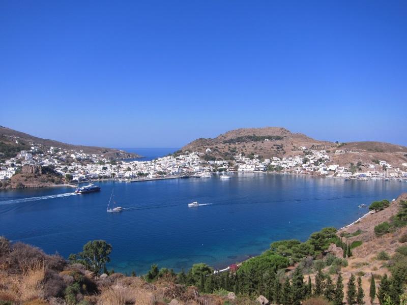 Patmos adası Skala