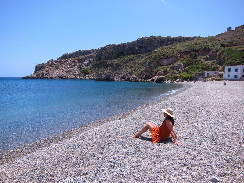 Platia Ammos beach Kythira