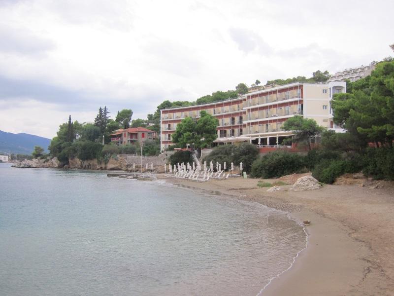 Poros adası golden beach hotel