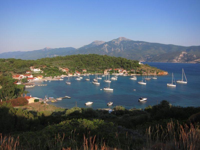 Posidonio doğal barınak ve köyü, Samos