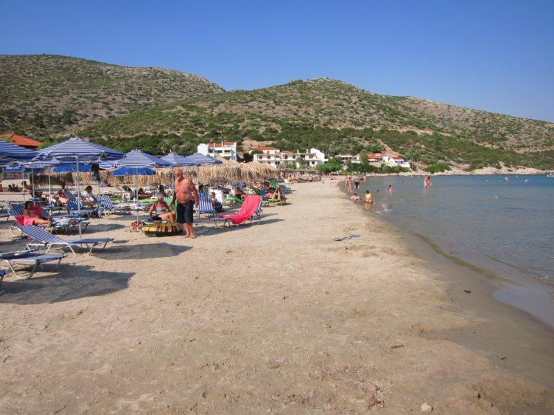 Psili Ammos plajı, Samos