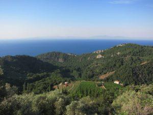 Mavi ve yeşilin adası Samos