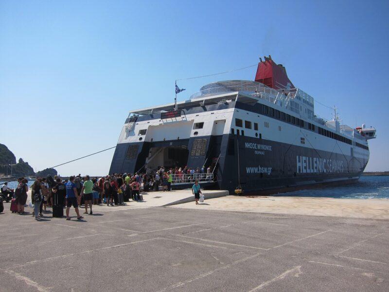 Samos-İkaria gemisi