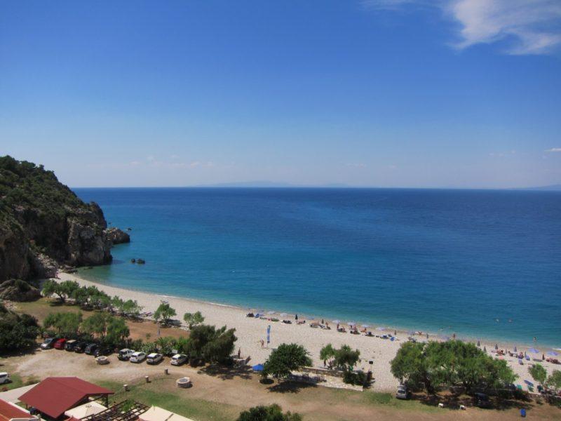 Tsambou plajı, Samos
