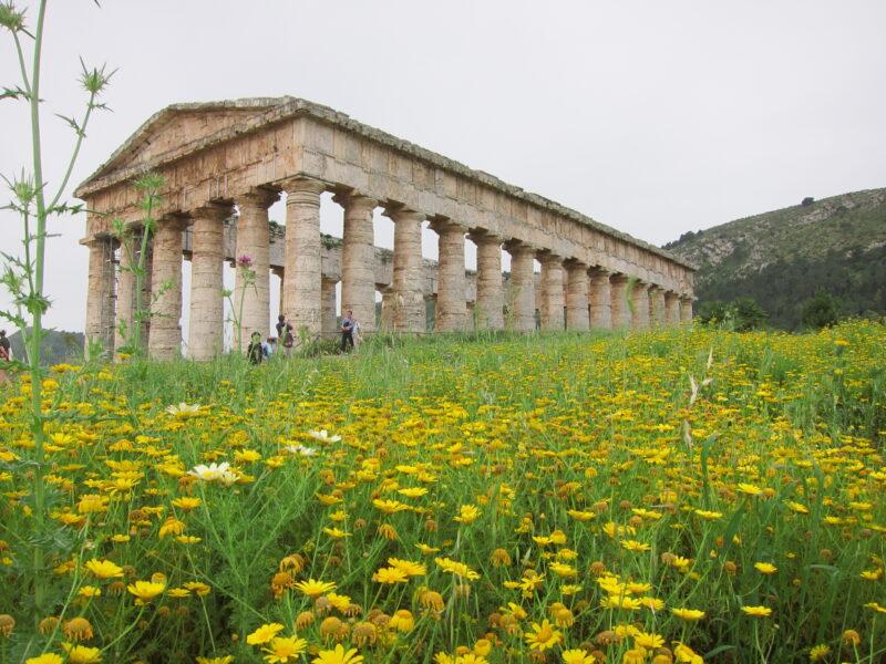 Segesta tapınağı