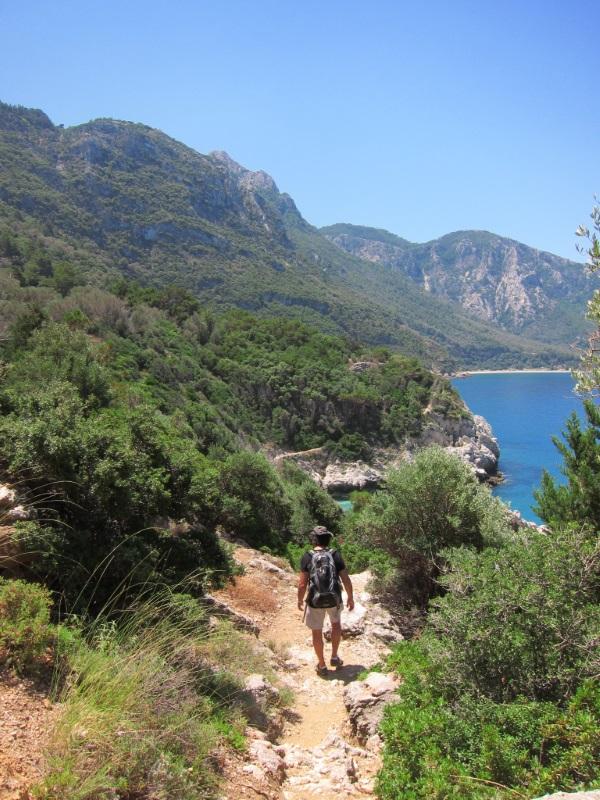 Seitani beach yürüyüş yolu, Samos