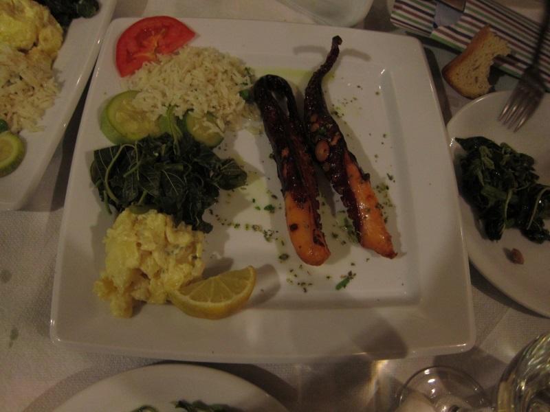 Tarsanas restaurant ahtapot ızgara