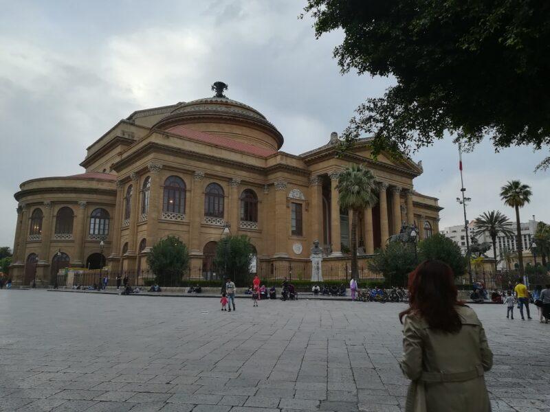 Teatro Massimo Sicilya Palermo