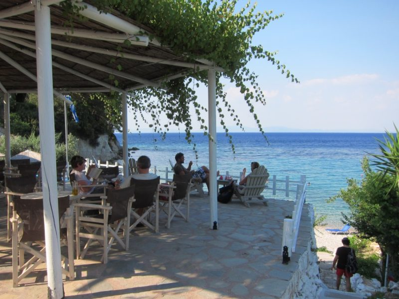 Tsamadou plajı Kokkari Samos