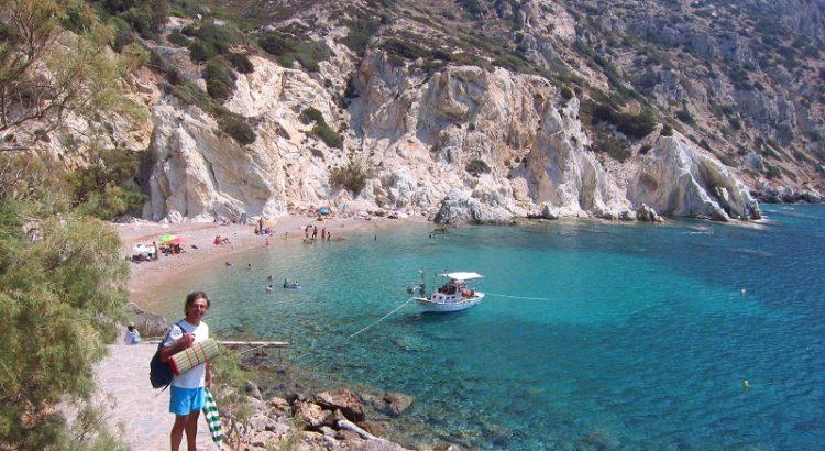 Vroulidia Beach Chios İsland